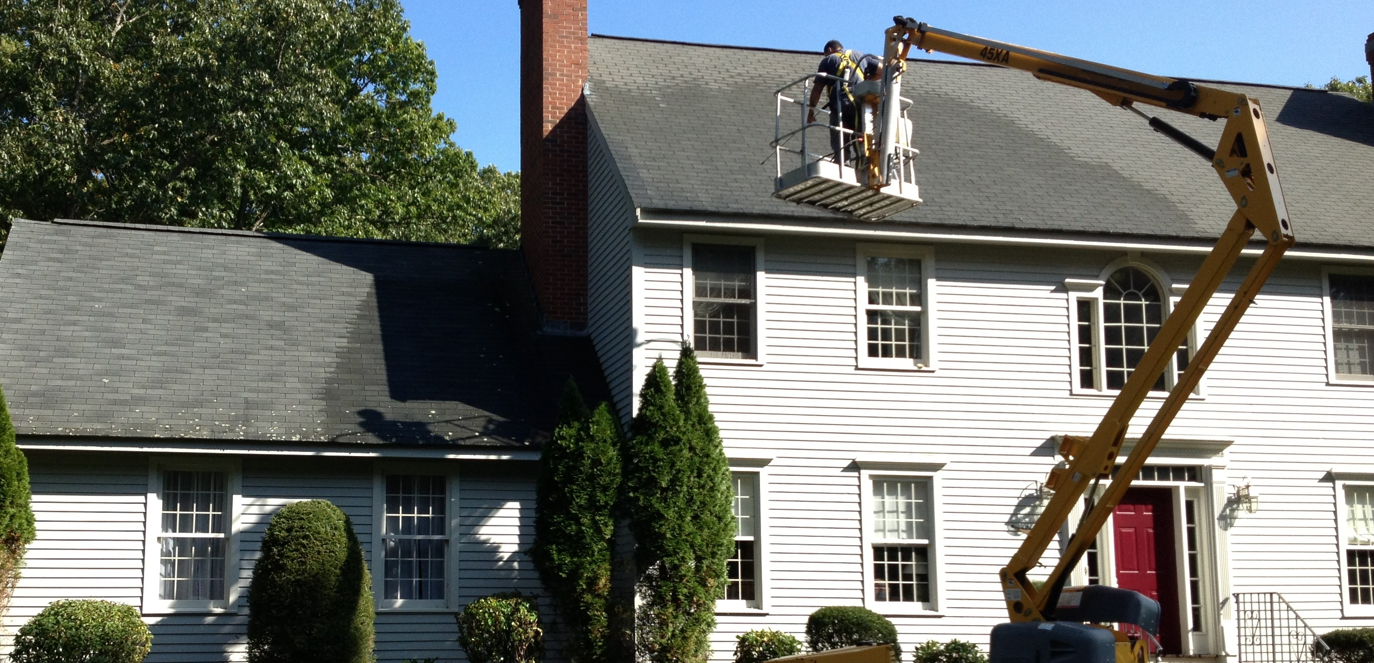 Roof Cleaning Equipment Amp Process Roof Cleaning Perfection